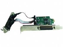 PCIe TO 1 Parallel 2 Serial Card with MS9901